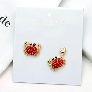 Kate Spade crab earrings